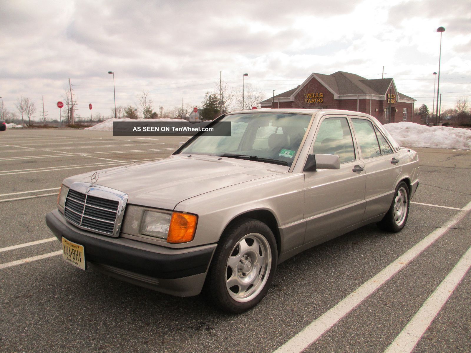 1991 mercedes benz 190e 2 6 i6 automatic smoked silver for 1991 mercedes benz 190e
