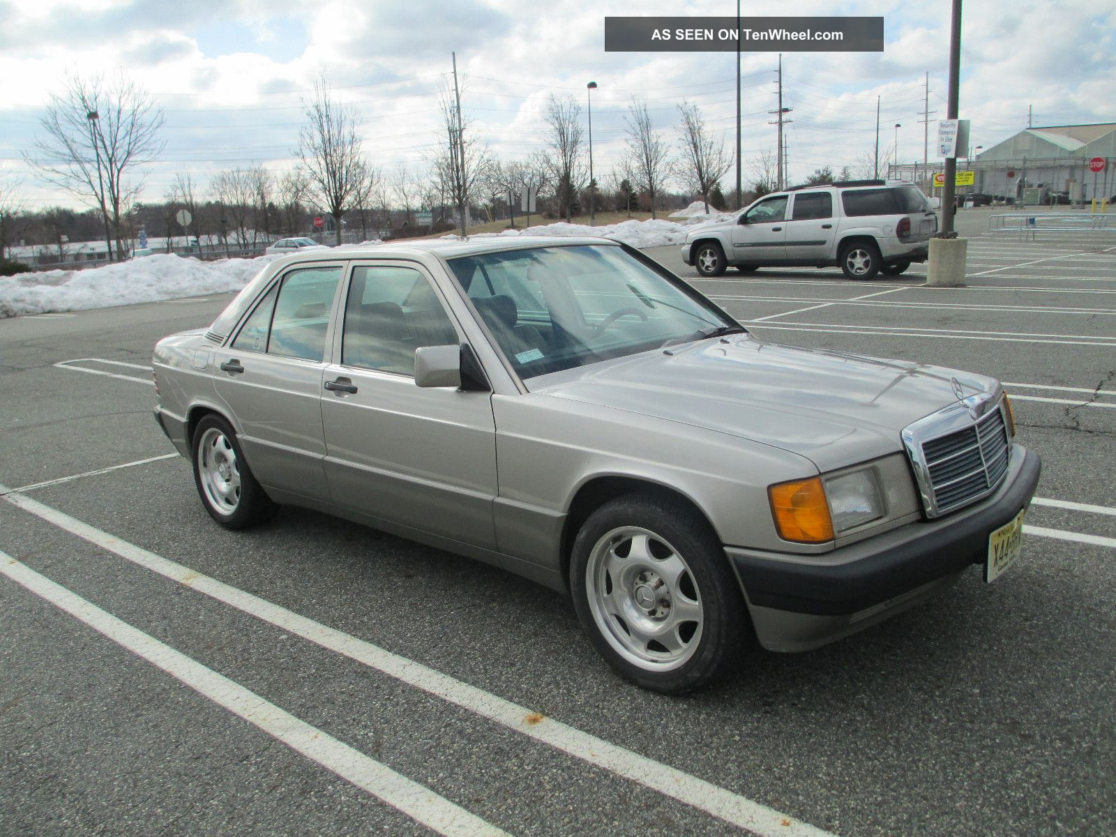1991 mercedes benz 190e 2 6 i6 automatic smoked silver for 1991 mercedes benz