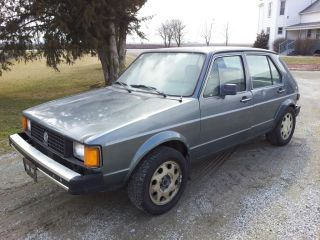 1981 Volkswagen Rabbit Diesel photo