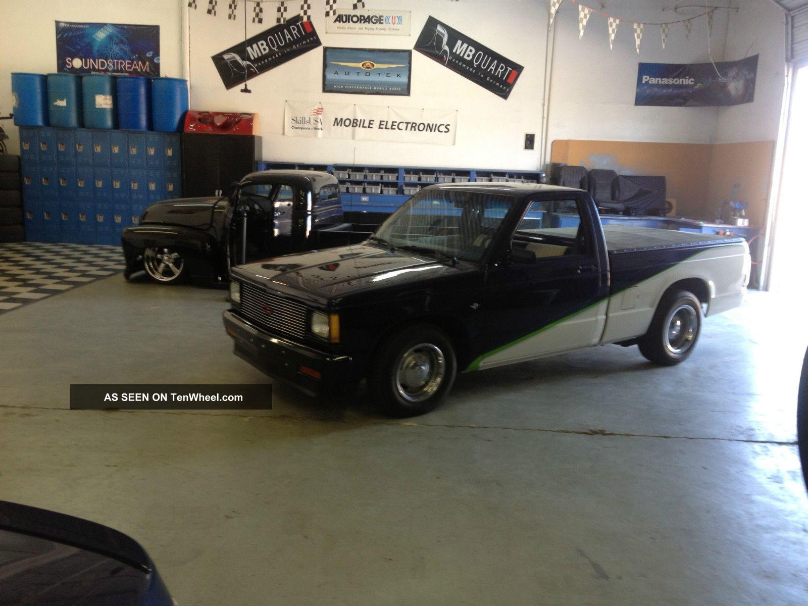 1986 Chevrolet S10 S - 10 Sbc 350 V8 Fast Custom Chevy Muscle Car S-10 photo