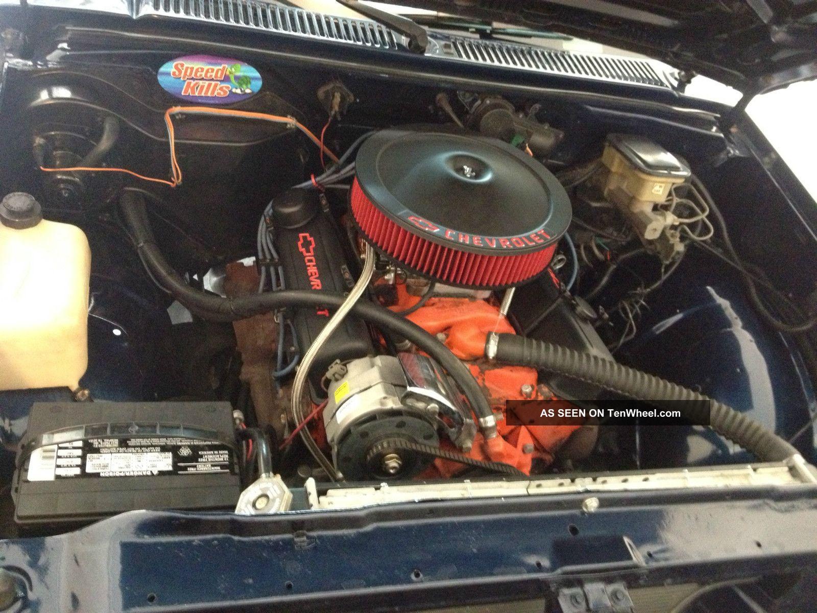 1986 Chevrolet S10 S - 10 Sbc 350 V8 Fast Custom Chevy ...