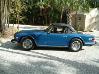 1974 Triumph Tr6 - photo