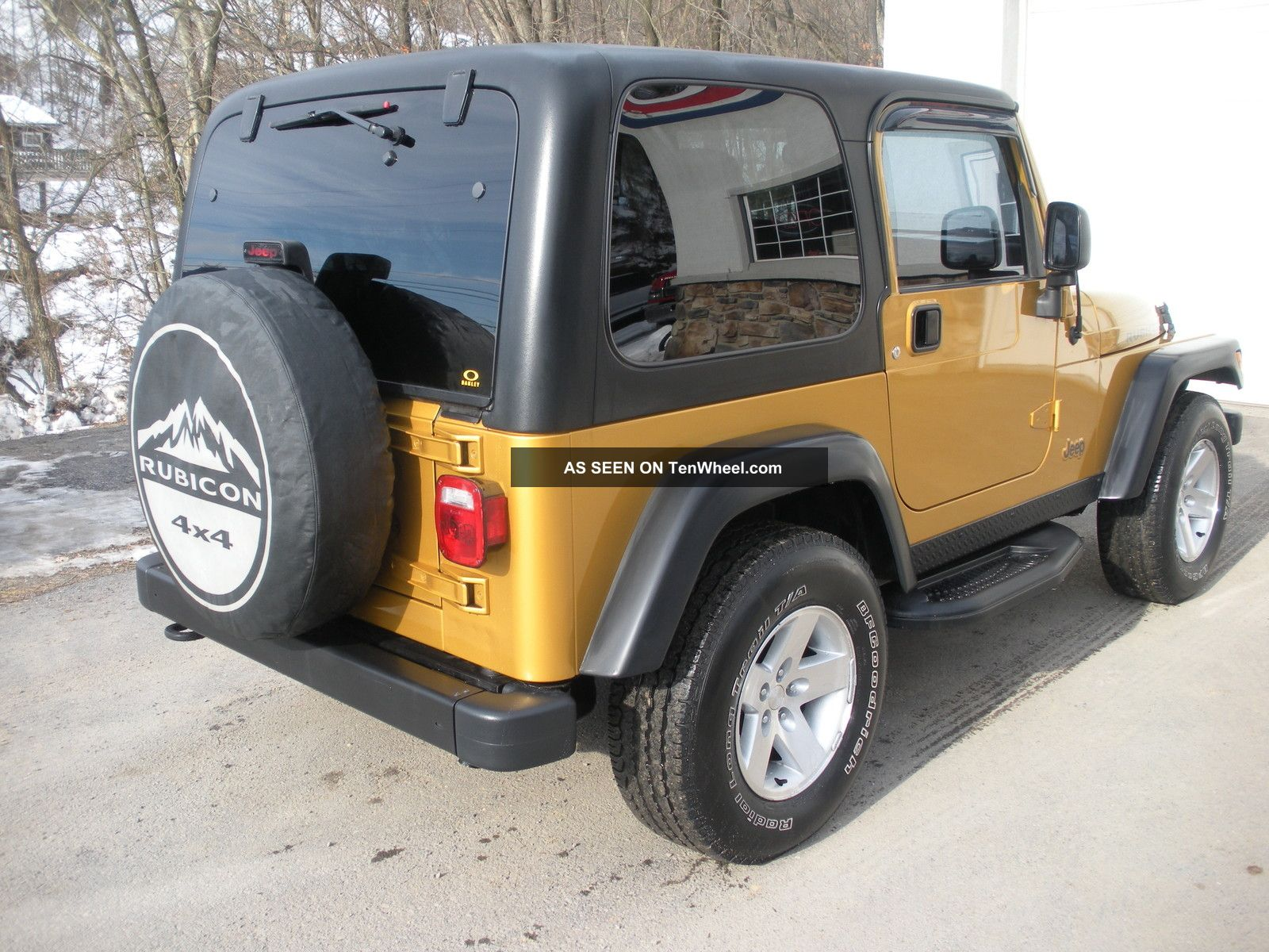 2003 jeep wrangler rubicon 4x4 hard top 2 door sport utility convertible euc. Black Bedroom Furniture Sets. Home Design Ideas