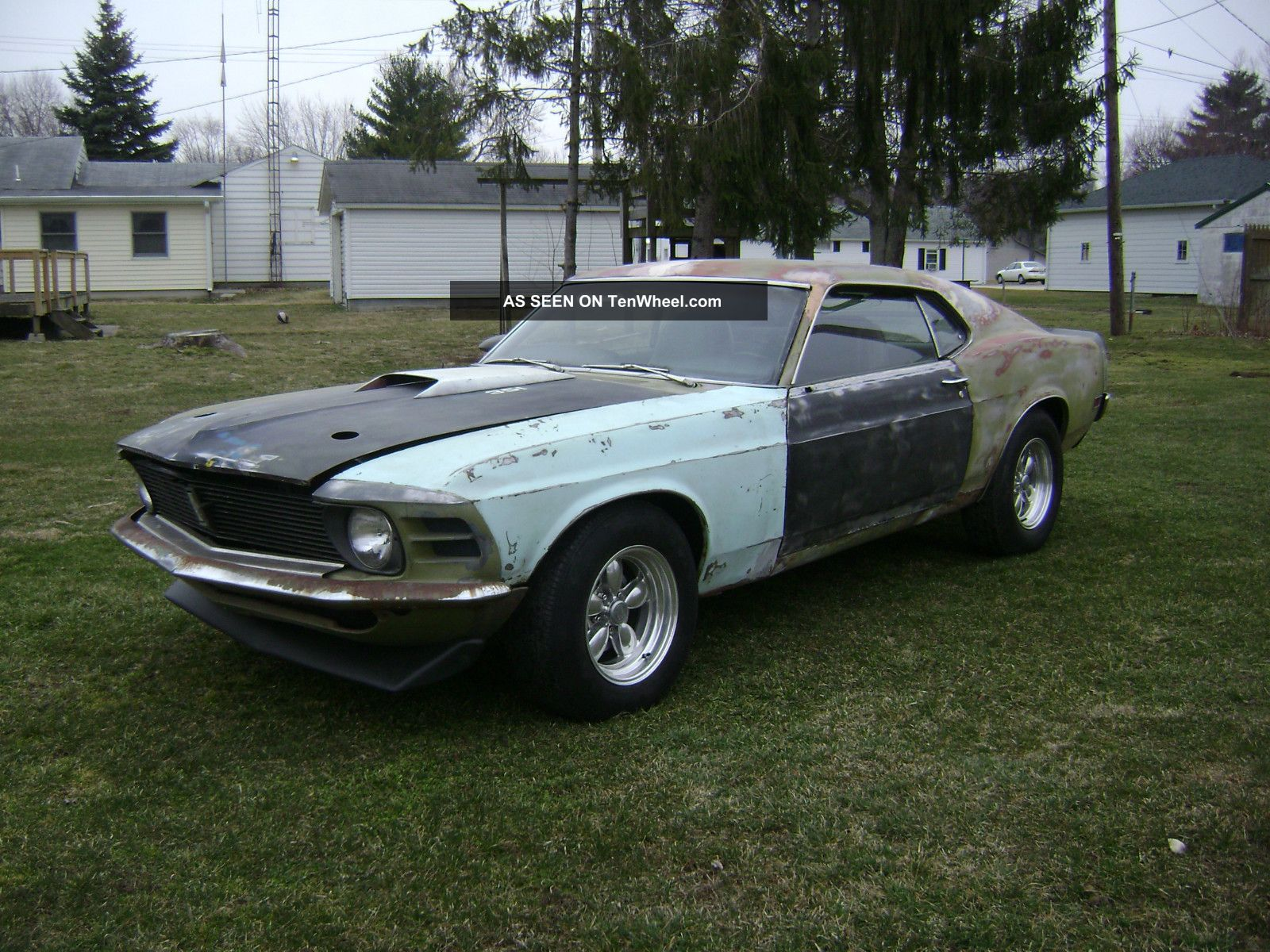 1970 Ford Mustang Fastback Numbers Matching Running With Marti Mach 1 Report
