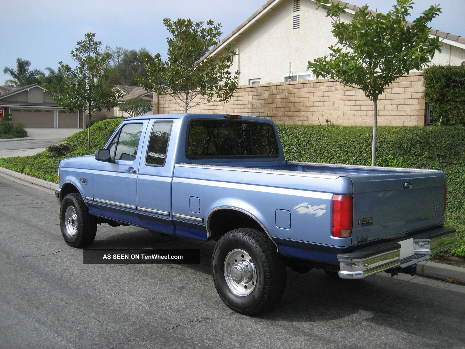 1997 ford f 250 extended cab short bed 4x4 turbo. Black Bedroom Furniture Sets. Home Design Ideas