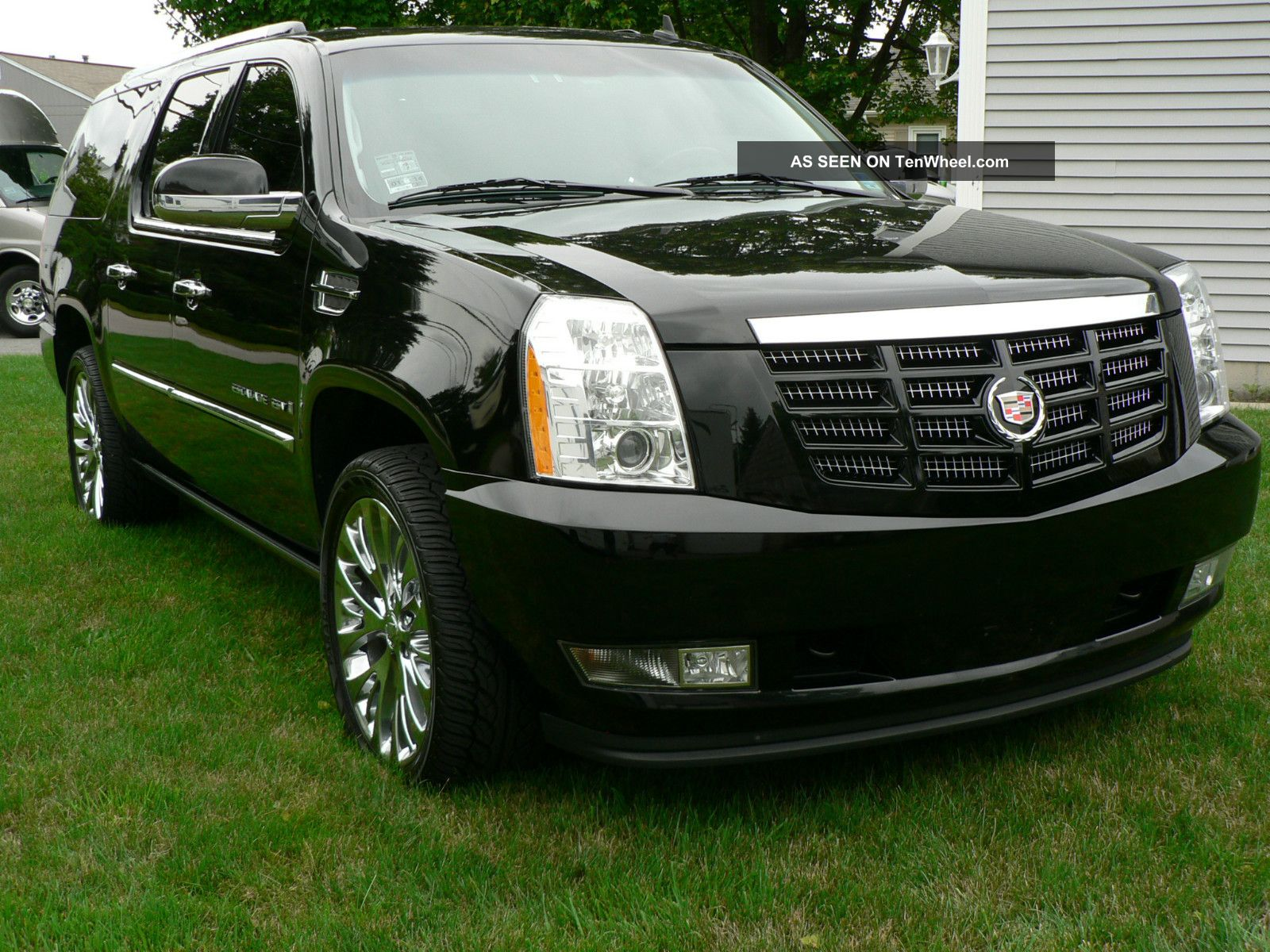 2008 cadillac escalade options. Black Bedroom Furniture Sets. Home Design Ideas