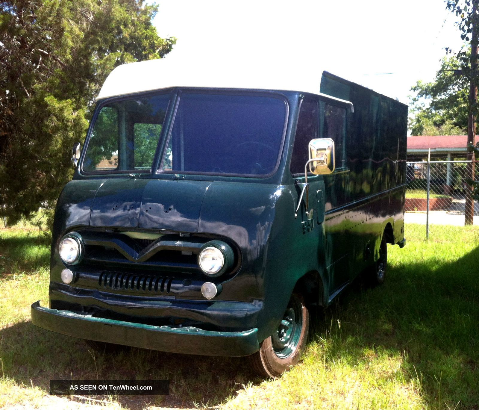 1960 Ford P - 400 Delivery Truck,  Bread Van,  Possible Food / Ice Cream Truck Or Rv Other photo