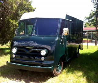1960 Ford P - 400 Delivery Truck,  Bread Van,  Possible Food / Ice Cream Truck Or Rv photo