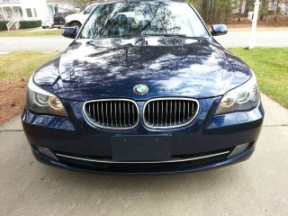 2008 Bmw 528i Dark Blue,  Garage Kept,  Meticulously Cared For,  L Gorgeous Car photo