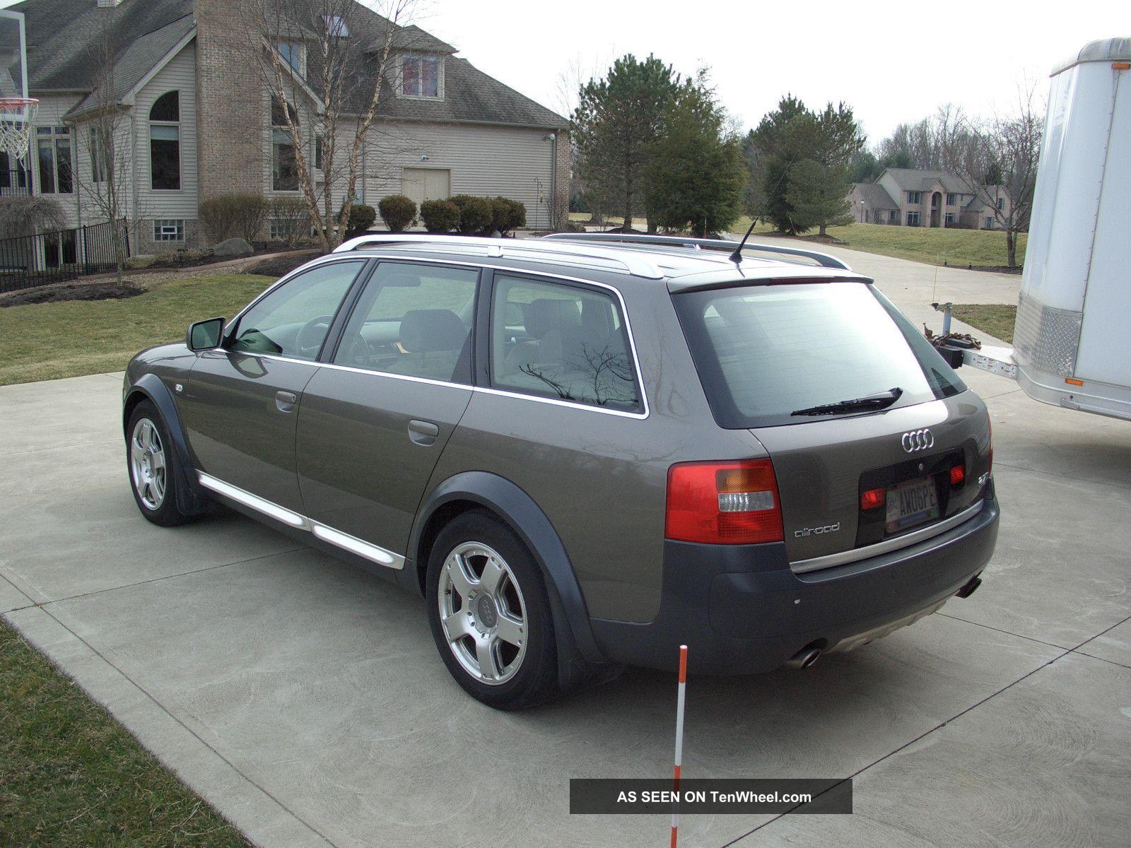 2002 Audi Allroad Repair Seat Travel 2002 Audi Allroad