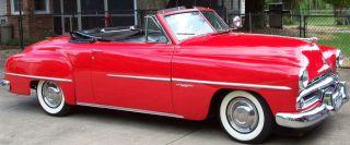 1951 Dodge Wayfarer Sportabout Convertible Rare photo