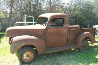 1941 Ford Pick Up Needs Restoration Flathead V8 Complete photo