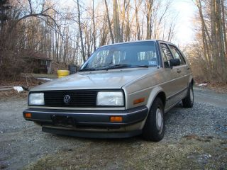 1987 Vw Volkswagen Gl photo