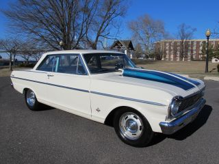 1965 Chevrolet Nova 2 - Dr 327 V8 Auto Muscle Car Pro Street Show photo