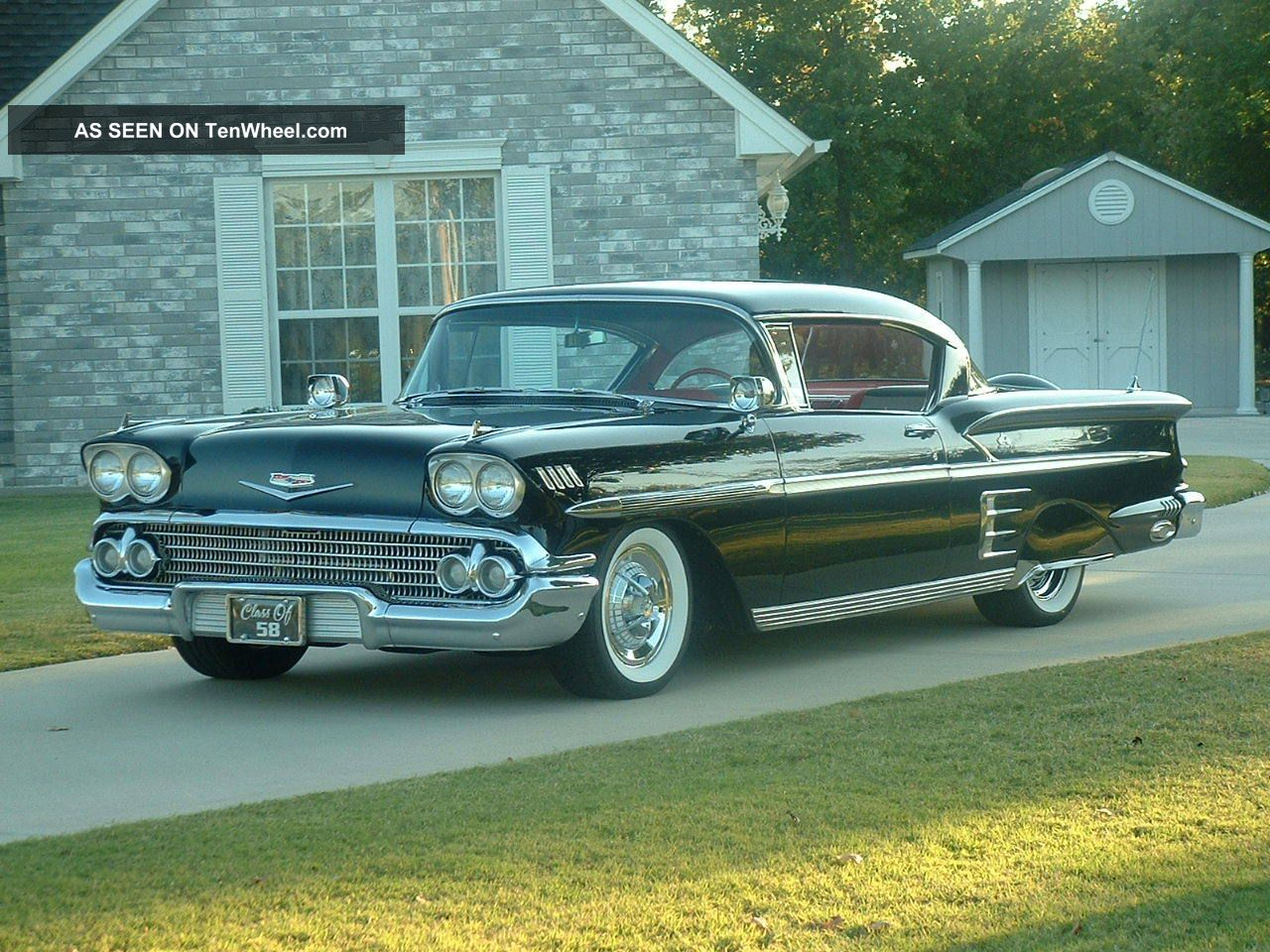 classic 1958 chevrolet impala. Cars Review. Best American Auto & Cars Review