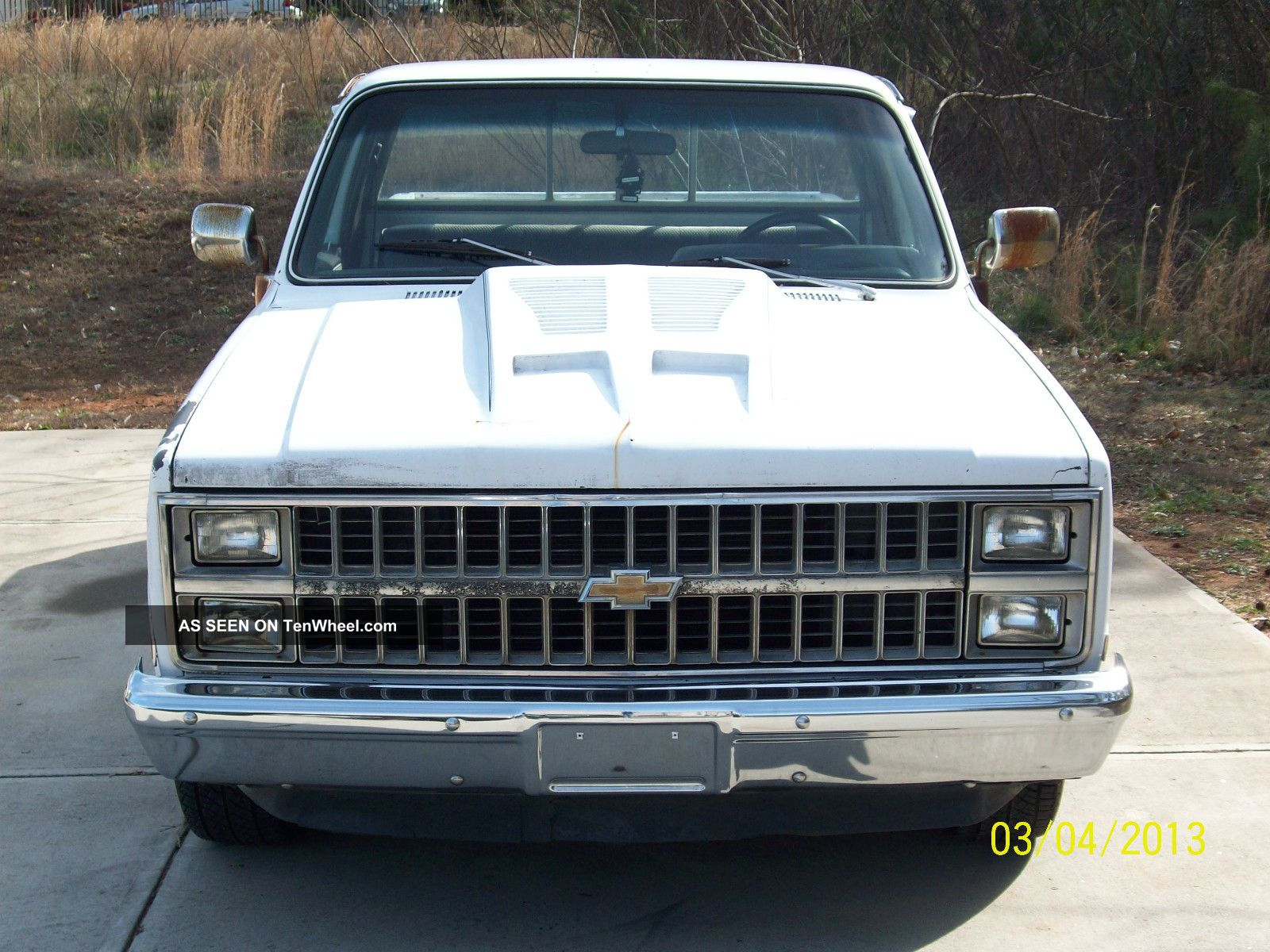 1982 chevrolet c10 silverado standard cab pickup 2 door 5 7l. Black Bedroom Furniture Sets. Home Design Ideas