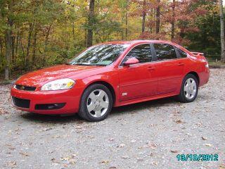 2009 Chevrolet Impala Ss Sedan 4 - Door 5.  3l photo