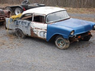 1956 Chevy Gasser Rat Rod Project photo