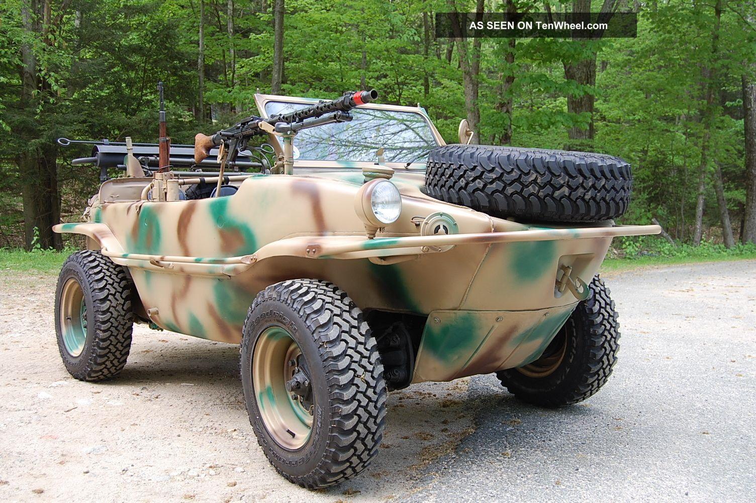1943 Vw Schwimmwagen German Military Amphibious Vehicle