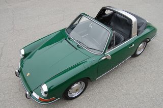 1968 Porsche 911 L Soft Window Targa Spectacular Condition photo