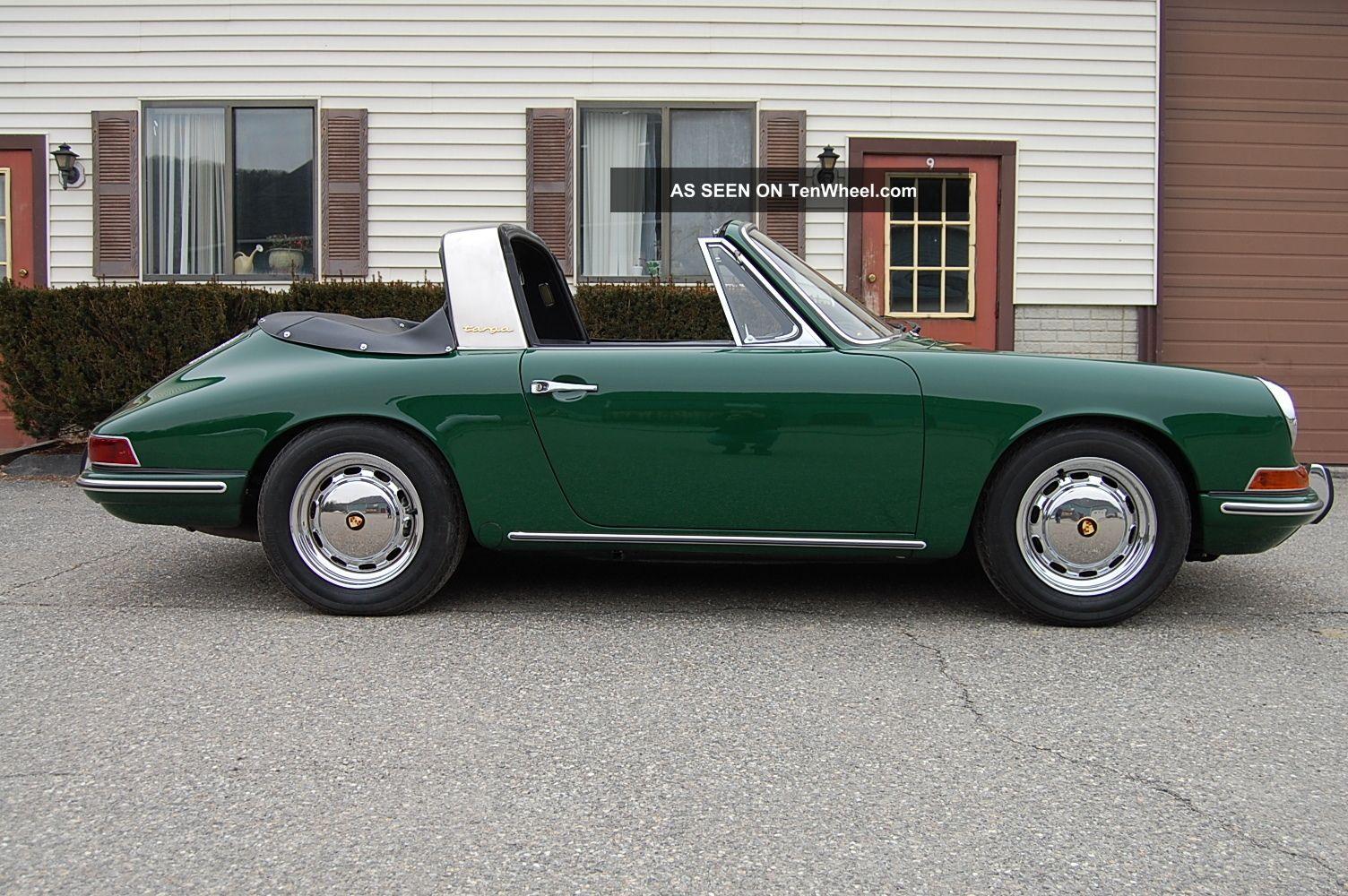 1968 porsche 911 l soft window targa spectacular condition