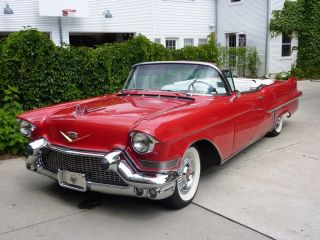 1957 Cadillac Series 62 2 - Door Convertible photo