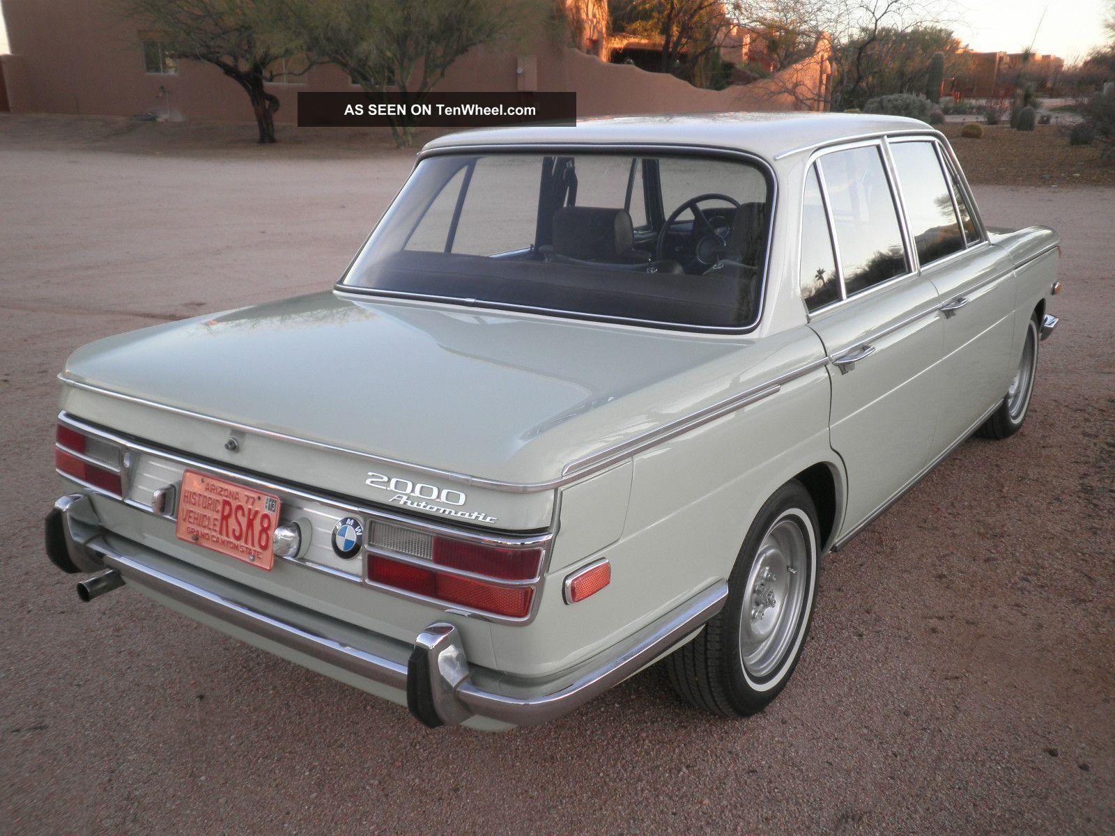 Gorgeous And Rare - Classic 1969 Bmw 2000 Sedan,  Rust Az Car Other photo