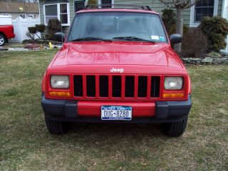 2001 Jeep Cherokee Sport photo