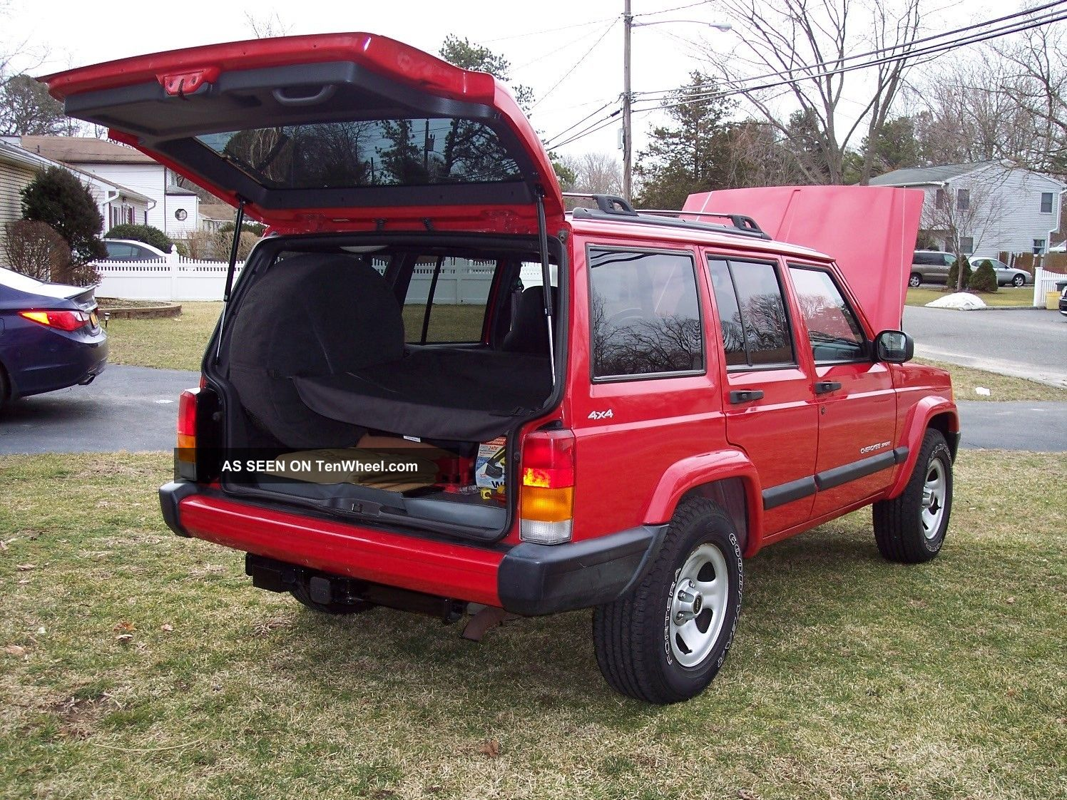 2001 jeep cherokee sport cherokee photo 7. Cars Review. Best American Auto & Cars Review