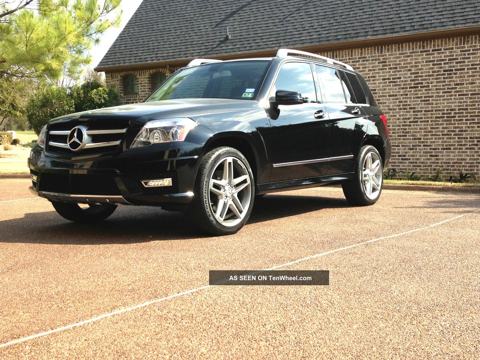2011 mercedes benz glk350 p1 package amg package 20 wheels for Mercedes benz glk350 2011
