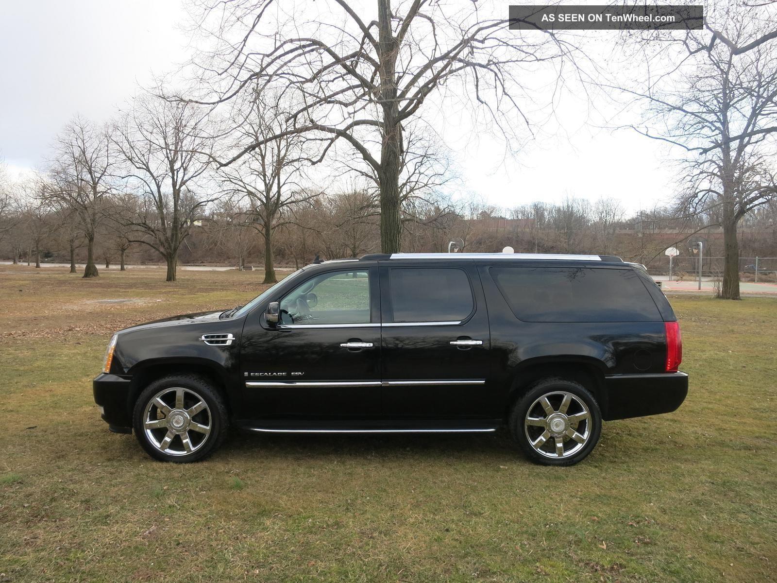 2008 Cadillac Escalade Options