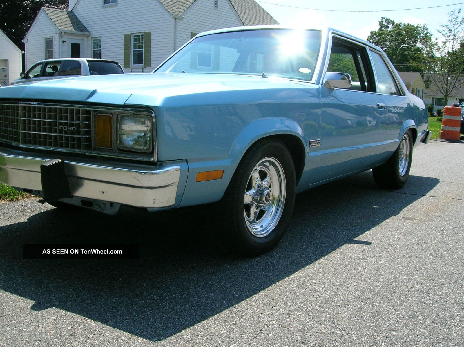 1979 Ford Fairmont Boxtop (fox Mustang)