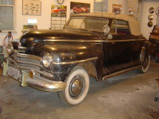 1946 Plymouth P15 Convertible Coupe All photo