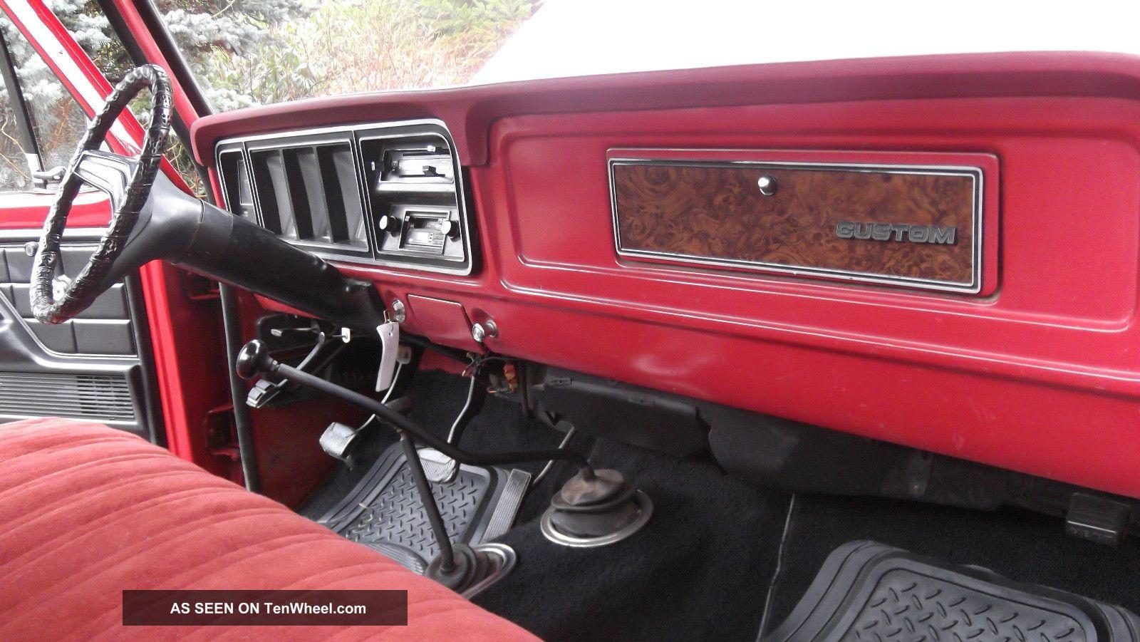 1979 Ford F - 250 4x4 300 6 Cyl 4 - Speed Locking Hubs ...
