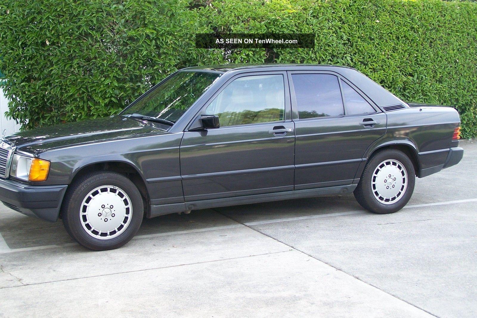 1985 mercedes benz 190 e 2 3l w201 auto runs for 1985 mercedes benz