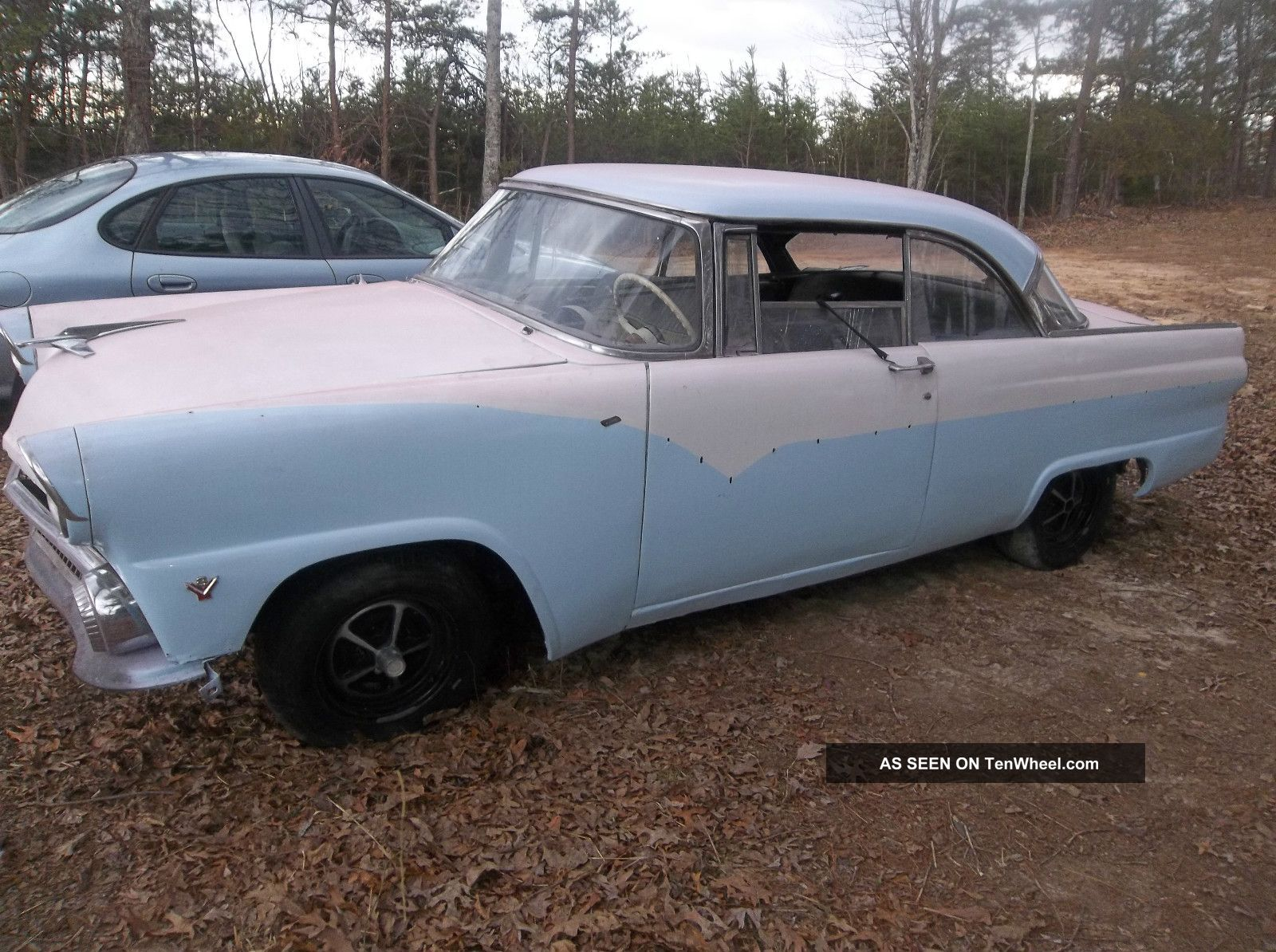 1955 ford victoria two door hard top rare find for 1955 ford 2 door