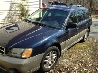 2002 Subaru Outback Legacy Wagon 4 - Door 2.  5l photo