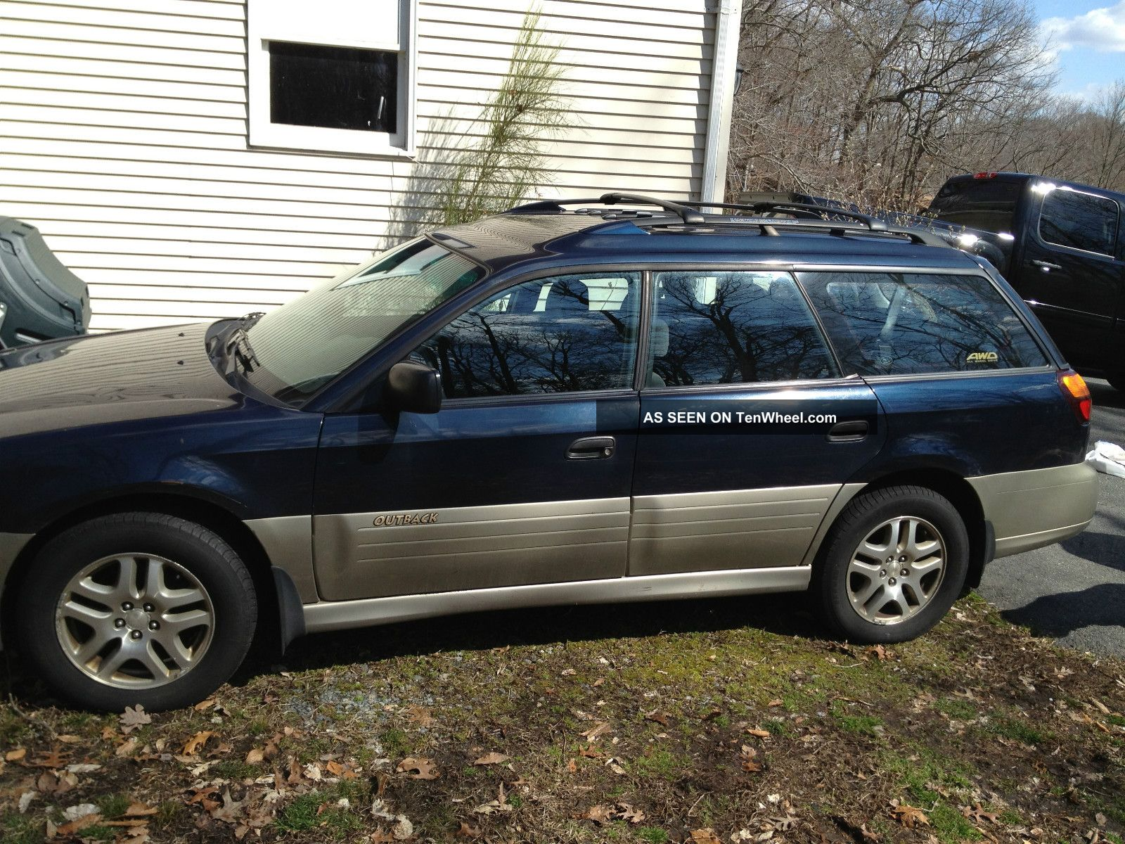 2002 subaru outback legacy wagon 4 door 2 5l. Black Bedroom Furniture Sets. Home Design Ideas
