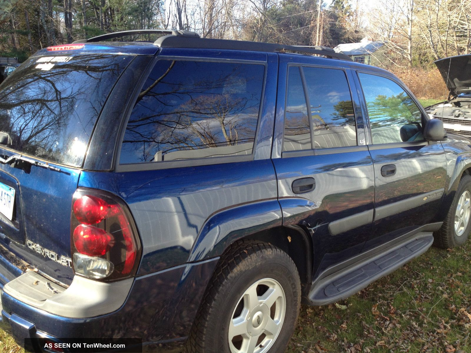 2003 Chevrolet Trailblazer Blue