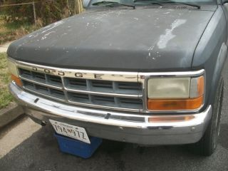 1993 Dodge Dakota X - Cab 4x4 Pickup,  5.  2 L V - 8,  A / T & Extras photo