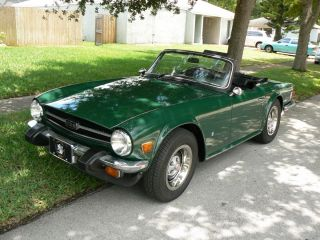 1976 Triumph Tr6 photo