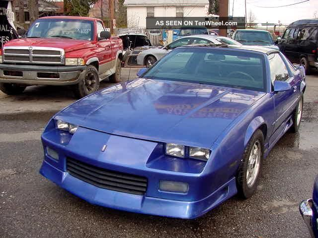1992 Chevrolet Camaro Rally Sport 350 Automatic T - Tops Big Cam
