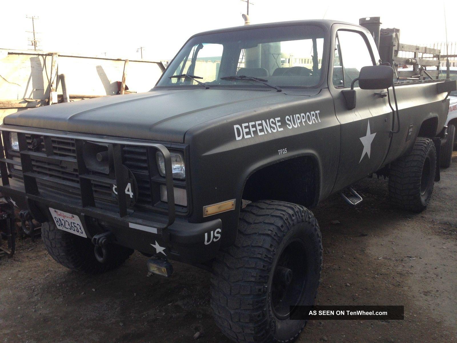 1984 Cheverolet Blazer Army Truck Blazer photo