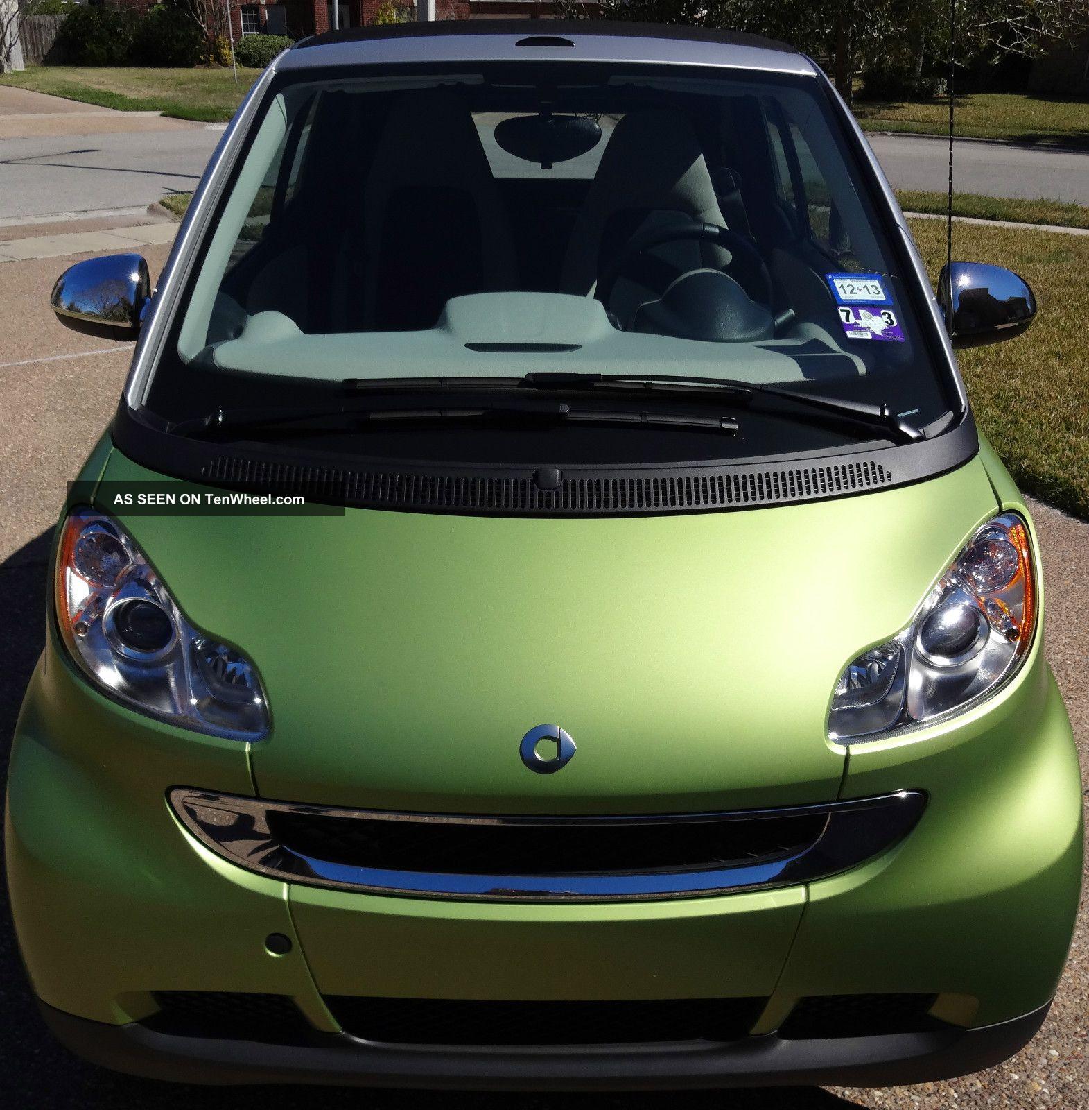 2011 Smart Fortwo Passion Cabrio Convertible 2