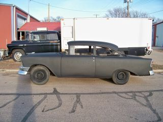 1956 Chevy Belair 2 Door With Small Block Chevy & 4 Speed Manual photo