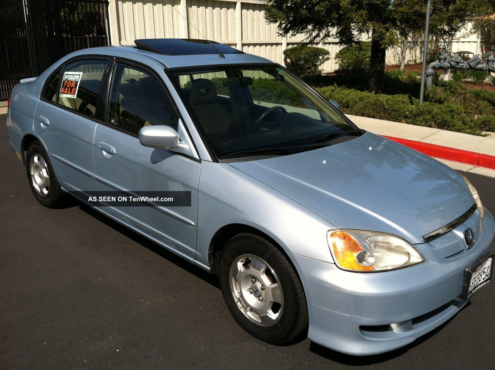 2003 Honda Civic Hybrid 45 Mpg