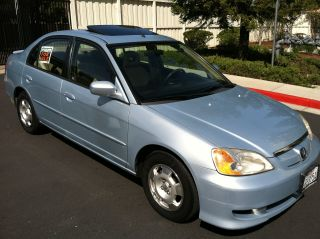 2003 Honda Civic Hybrid 45 Mpg photo