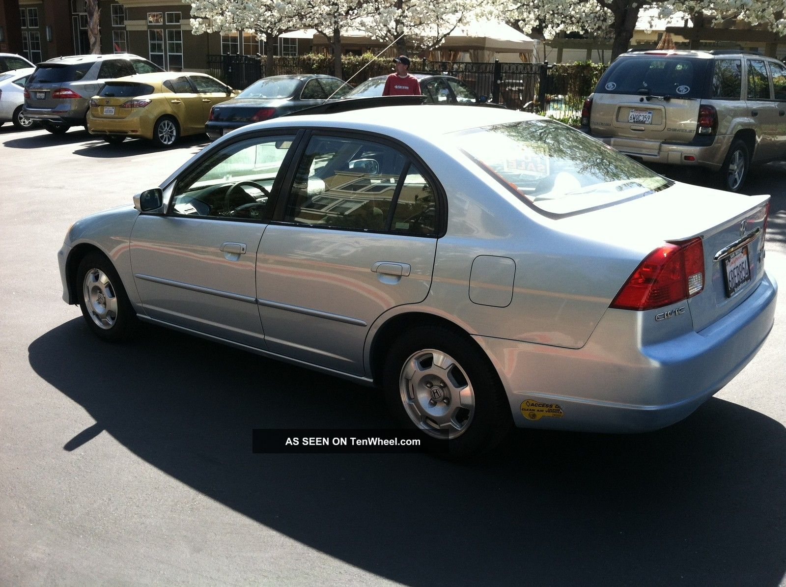 2003 Honda Civic Hybrid 45 Mpg
