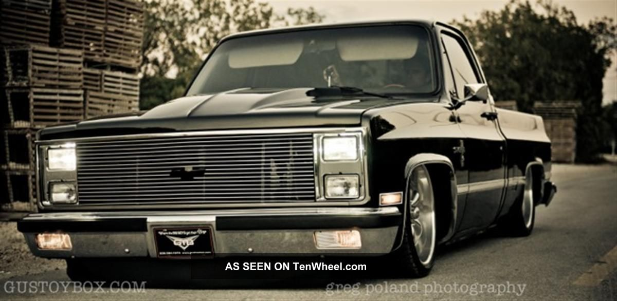 1981 Chevrolet Silverado C10 Pro Touring Classic Pick Up Truck