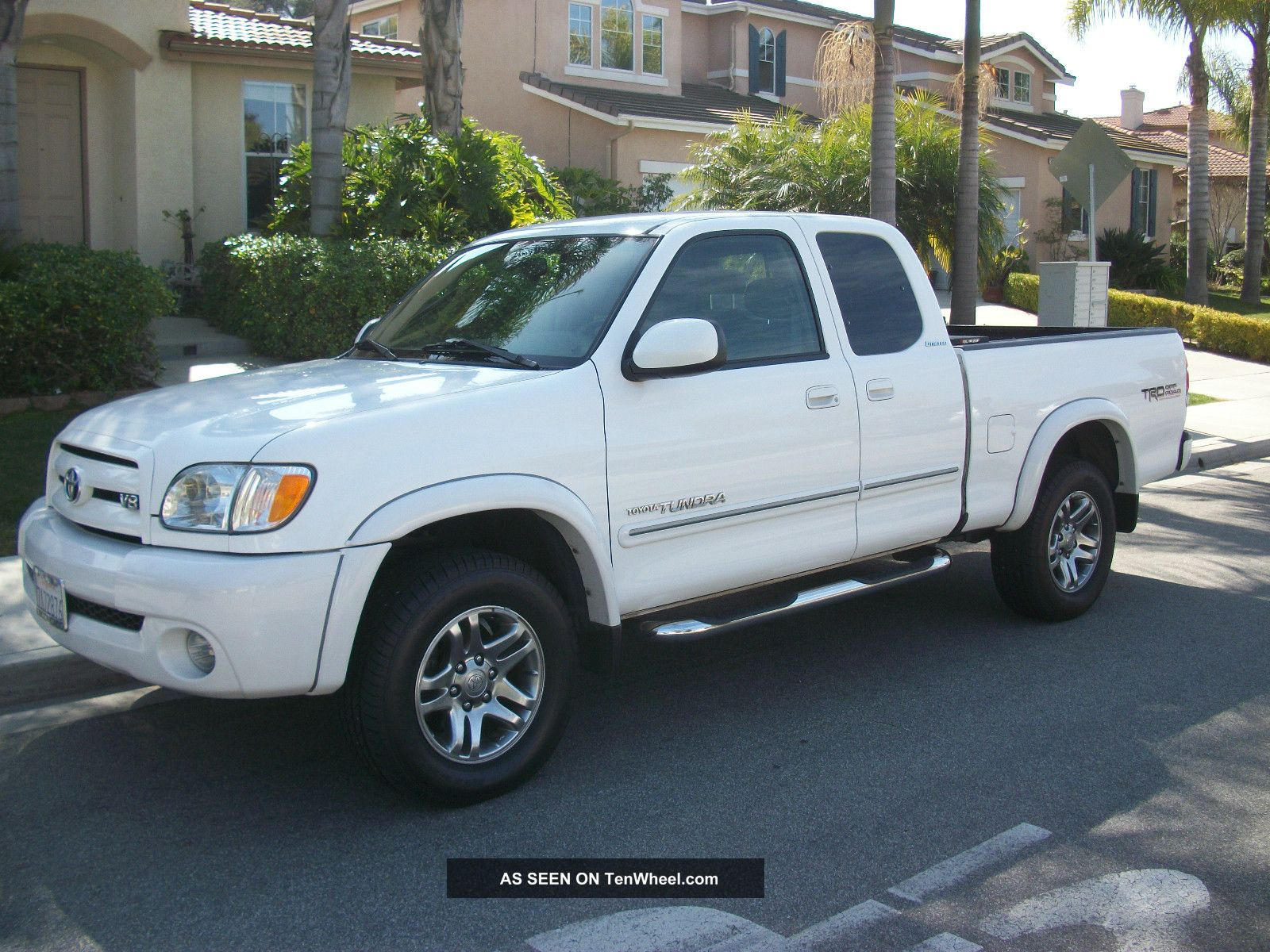 2003 toyota tundra trd limited 4x4 truck int towing pkg 8000lbs. Black Bedroom Furniture Sets. Home Design Ideas